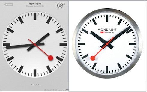 Дизайн часов в iOS 6 обошелся Apple в 21 млн долларов