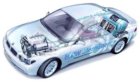 BMW Hydrogen 7 – водородный гибрид