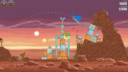Angry Birds Star Wars: у птиц тоже есть «сила»