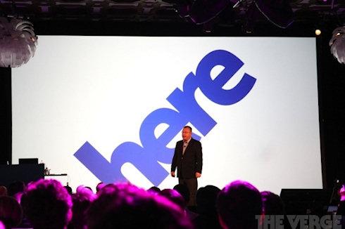 «Here»: Nokia уже «Здесь»
