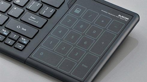 Клавиатура Elecom с тачпадом для Windows 8