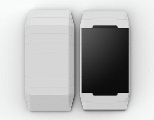 Концепт подвижного смартфона