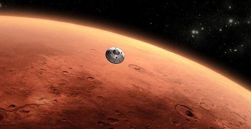 Марсианский сюрприз от Curiosity