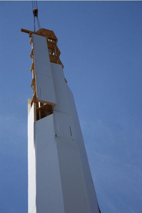 В Ганновере появился первый деревянный ветряк