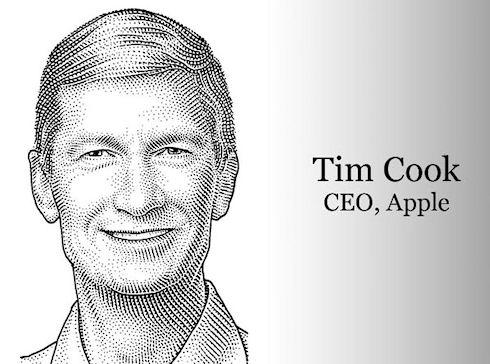 Тим Кук получил 376 млн долларов в качестве премии от Apple