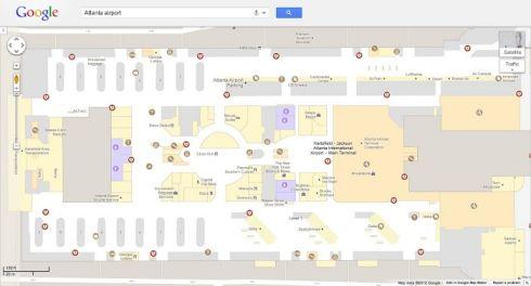 Google Maps включил отображение планов помещений