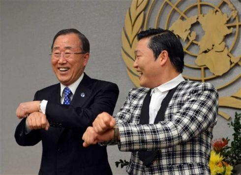 «Gangnam Style»   клип №1 на YouTube