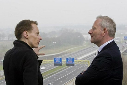 Умная голландская дорога