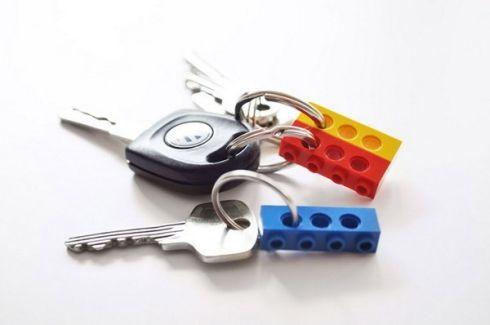 Брелоки для ключей из LEGO