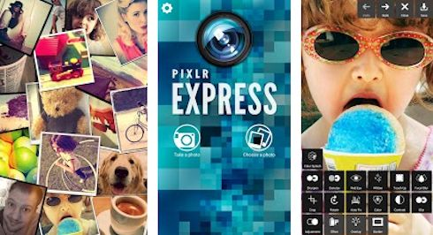 Autodesk Pixlr Express – графические изыски в вашем мобильном