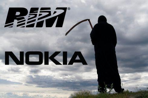 Nokia жаждет денег от RIM