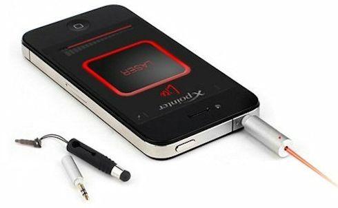 Xpointer – лазерная указка с подключением к смартфону