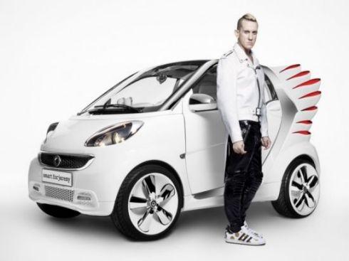 Дизайнерский электрокар «Smart Forjeremy»