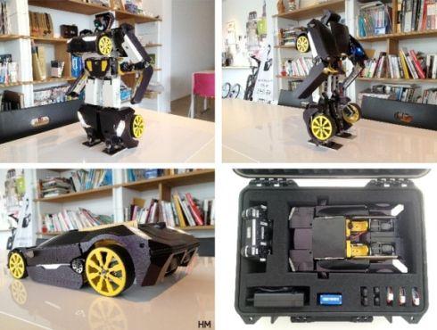 Распечатай себе трансформера на 3D-принтере