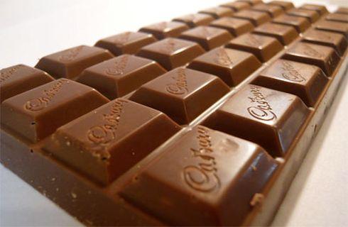 Шоколадки Cadbury больше не тают в руках