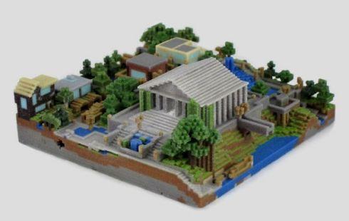 FigurePrints напечатает игровой мир в 3D