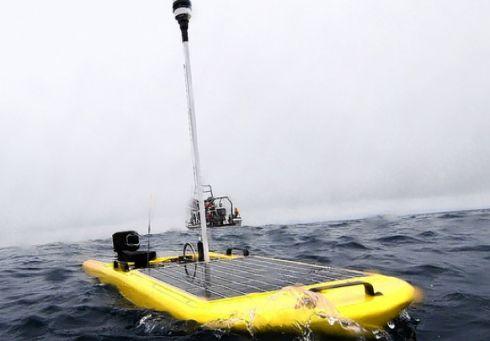 Робот PacX Wave Glider завершил «морской марафон»