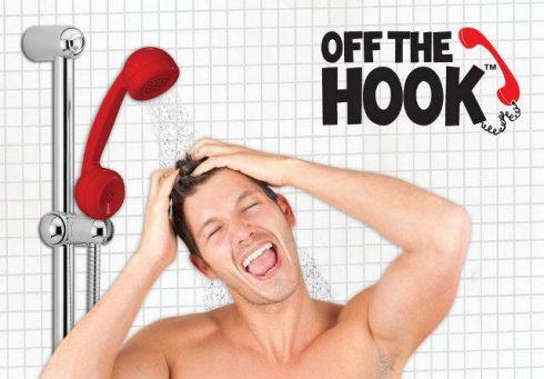 Аксессуар для ванной Off The Hook Shower Head