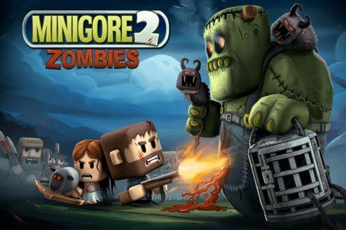Бегаем и стреляем в Minigore 2: Zombies