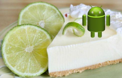 Android 5.0 Key Lime Pie будет анонсирован в мае 2013 года
