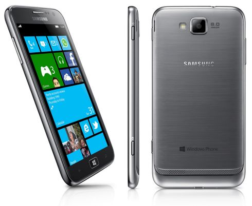 Начались продажи Samsung ATIV S на Windows Phone 8