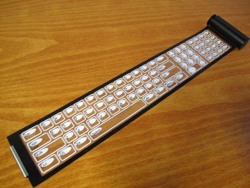 Qii – гибкая беспроводная клавиатура