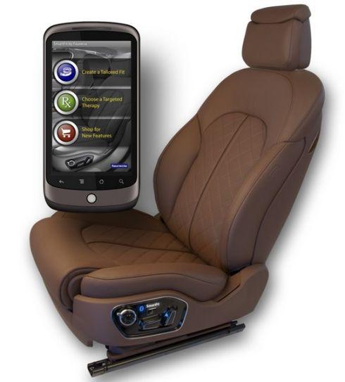 SmartFit умеет настраивать автомобильное сидение
