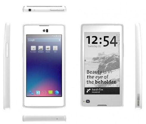 YotaPhone – новый русский смартфон?