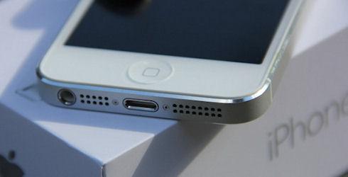 iPhone 5 «пролетает» над Россией