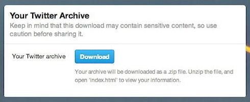 Twitter открыл доступ к архиву сообщений