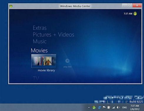 Закрыта возможность активации Windows 8 через Media Center