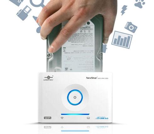 Wi-Fi док-станция Vantec NexStar для жестких дисков