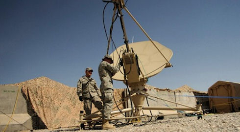 DARPA обеспечит военных связью на скорости 100 Гб/с