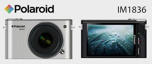 Android-камера Polaroid со сменной оптикой