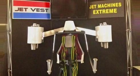 Kickstarter помогает в сборе средств на реактивный ранец Jet Vest
