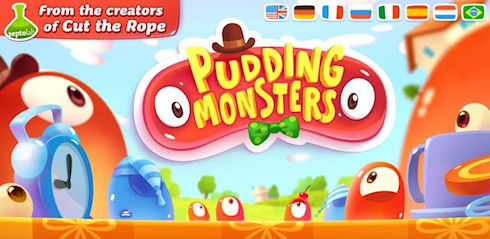 Pudding Monsters – спасаем желейки от хозяина
