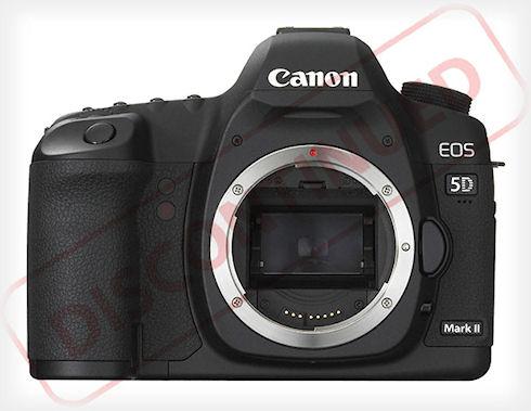 Canon EOS 5D Mark II снята с производства