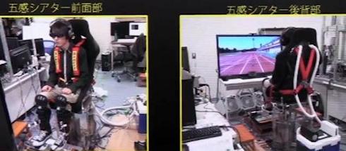 Японские разработчики создали систему виртуальной реальности