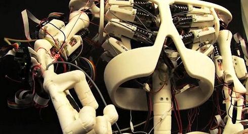Швейцарский робот Roboy