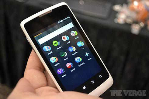 В 2013 году на рынке появятся смартфоны с Firefox OS