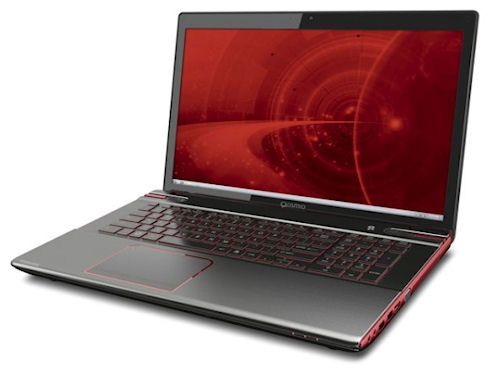 Геймерский ноутбук Toshiba Qosmio X875