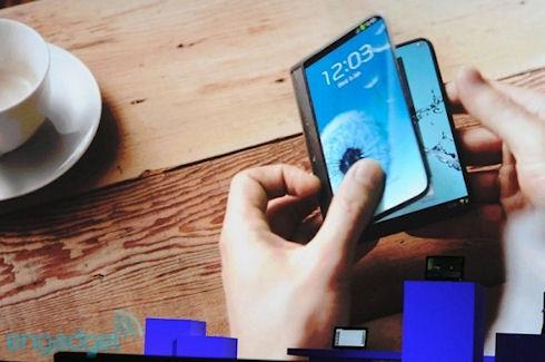 Гибкие дисплеи Samsung Youm показаны на CES 2013