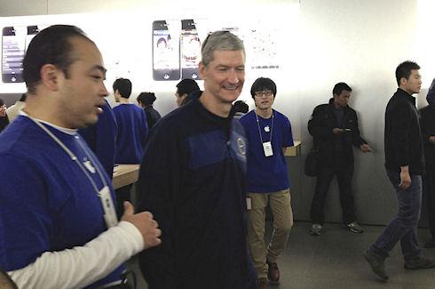 Тим Кук совершил очередной визит в Китай