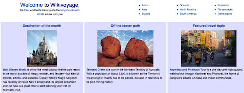 Wikimedia запускает Wikivoyage