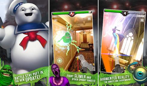 «Охотники за привидениями» для iPhone и iPad