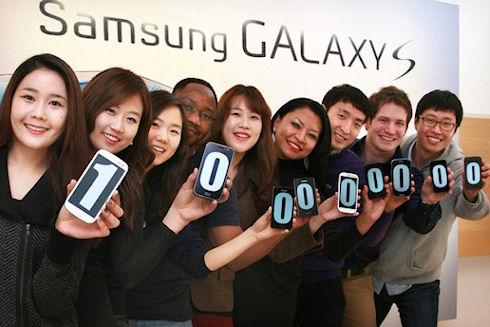Продажи Galaxy S перешагнули 100-миллионную отметку