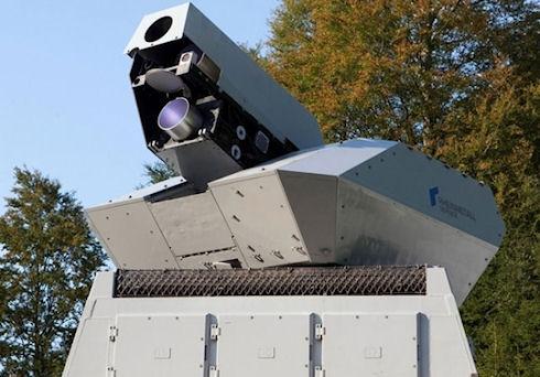 Лазерная установка мощностью 50 кВт