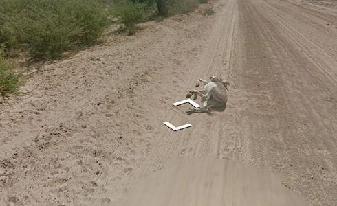 Автомобиль Google Street View оказался в центре скандала