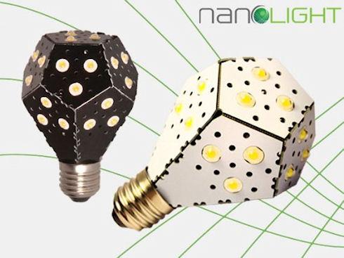 Светодиодные лампы Nanolight с ресурсом 30 тыс часов