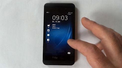 Видео-обзор нового смартфона Blackberry Z10